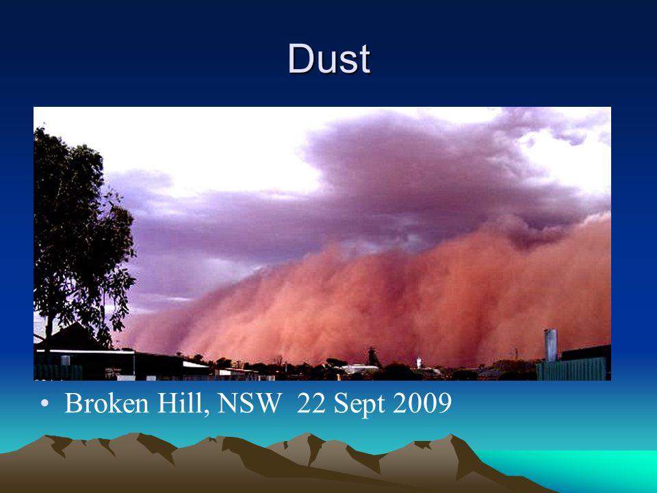 Dust Broken Hill, NSW 22 Sept 2009