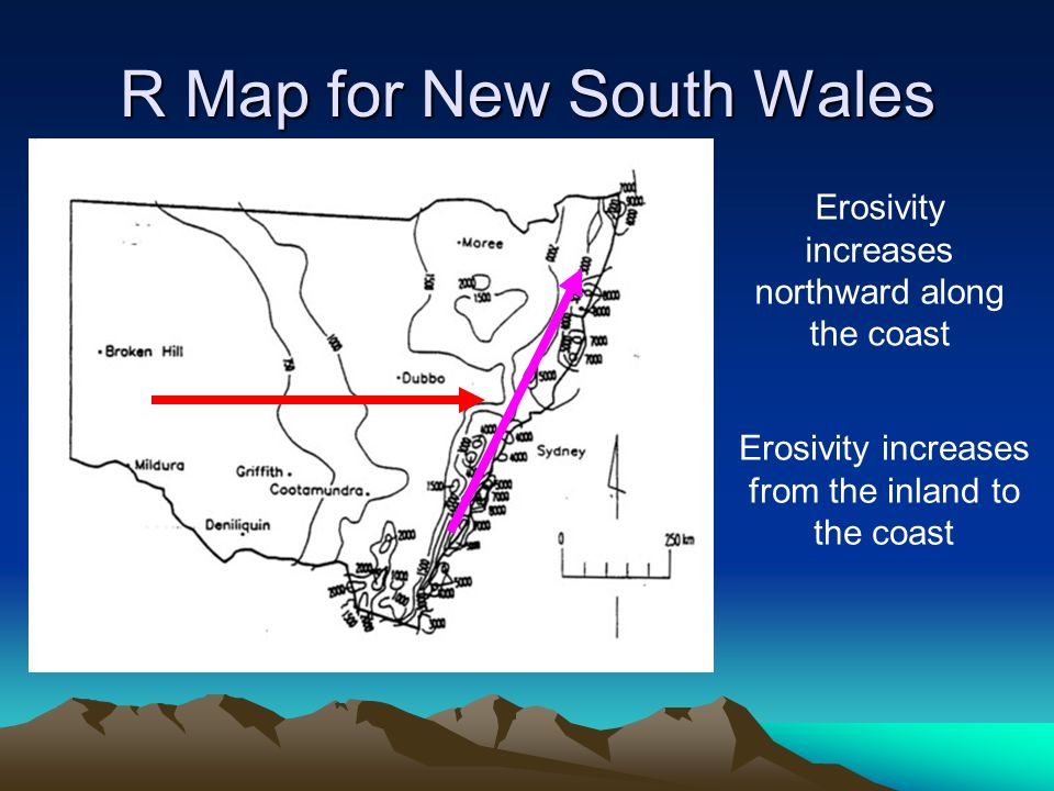R Map for New South Wales