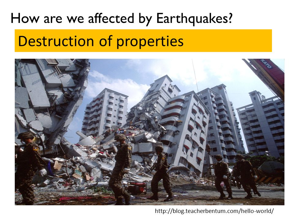 Destruction of properties