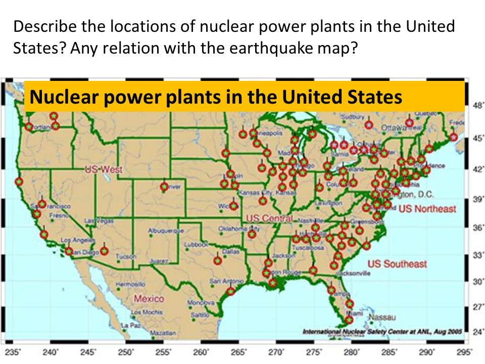 Nuclear power plants in the United States