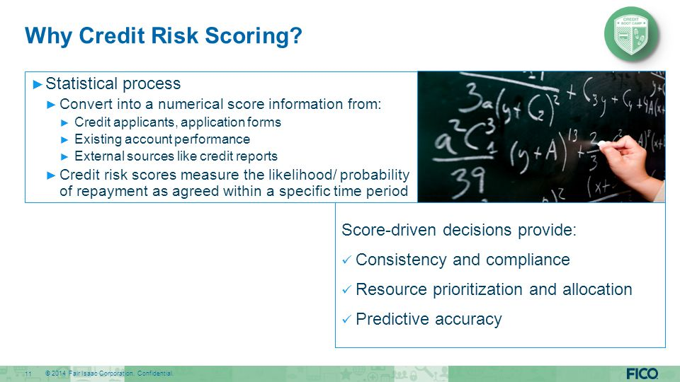 Why Credit Risk Scoring