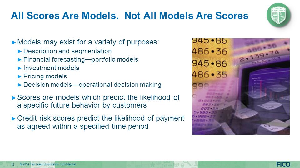 All Scores Are Models. Not All Models Are Scores