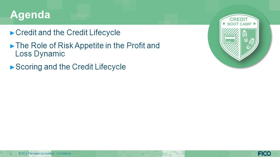 Credit and the Credit Lifecycle
