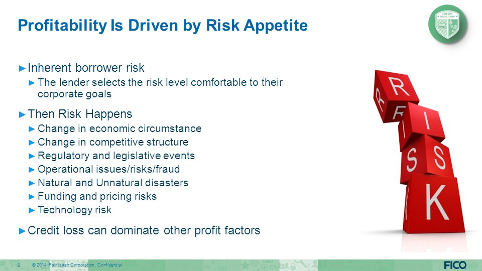 Profitability Is Driven by Risk Appetite