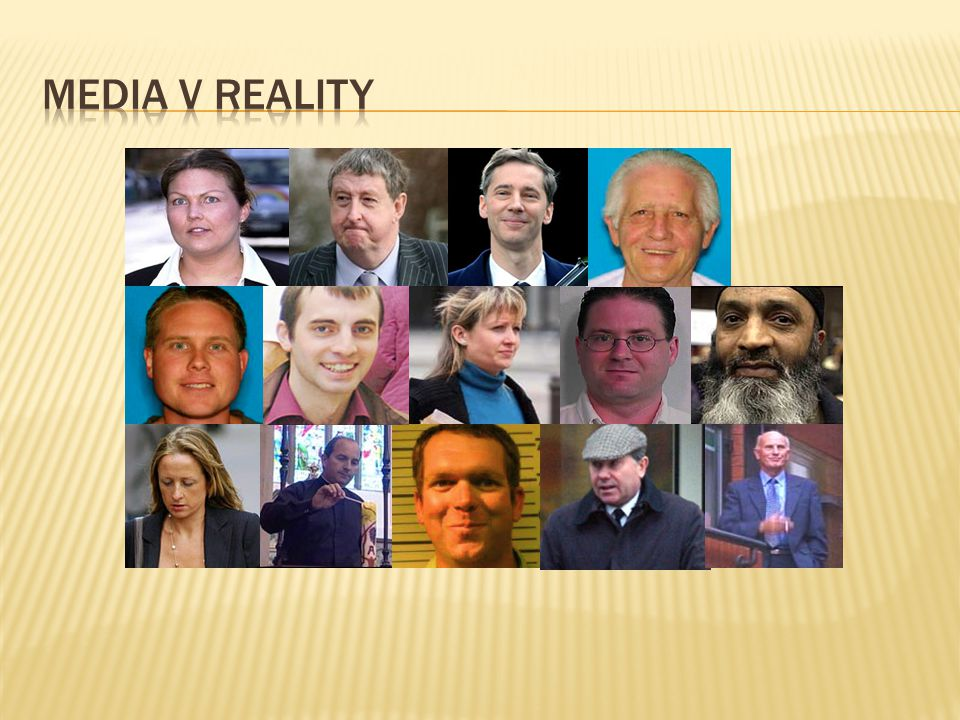 Media v Reality