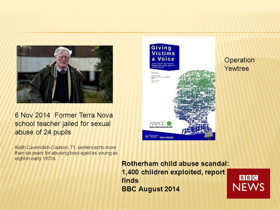 Rotherham child abuse scandal: 1,400 children exploited, report finds