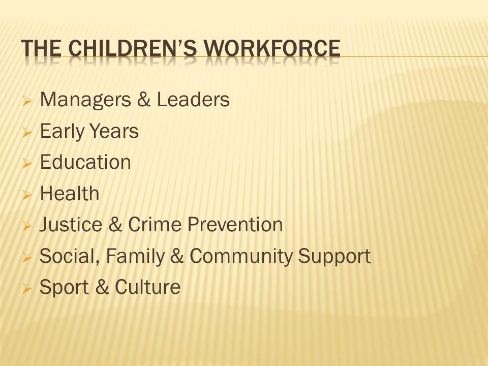 The Children's Workforce