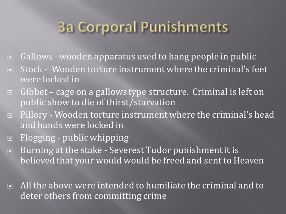 3a Corporal Punishments