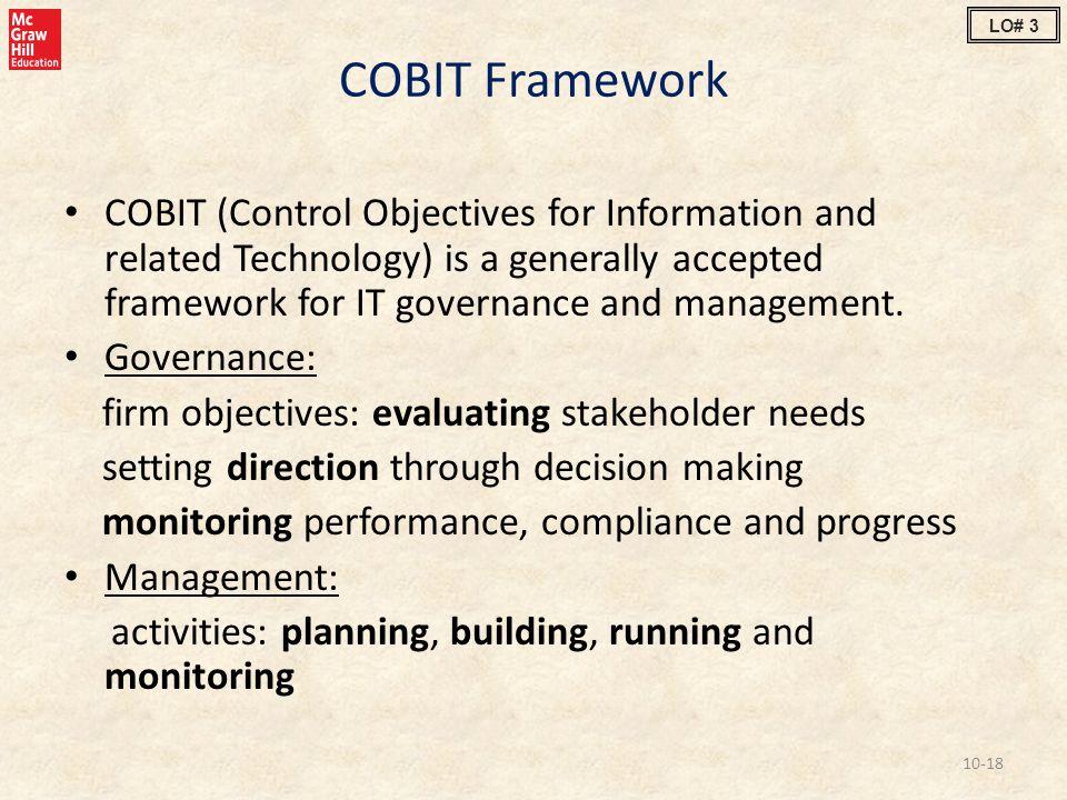 LO# 3 COBIT Framework.