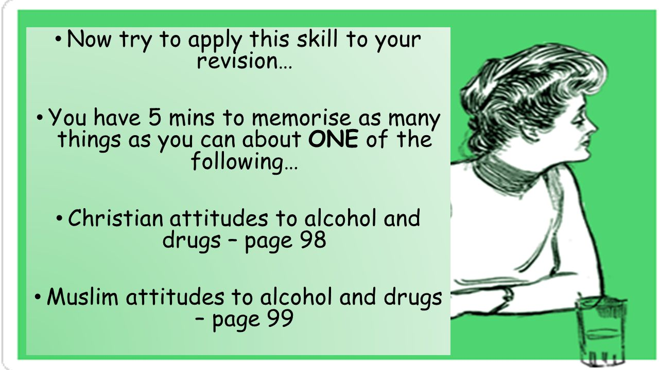 Now try to apply this skill to your revision…