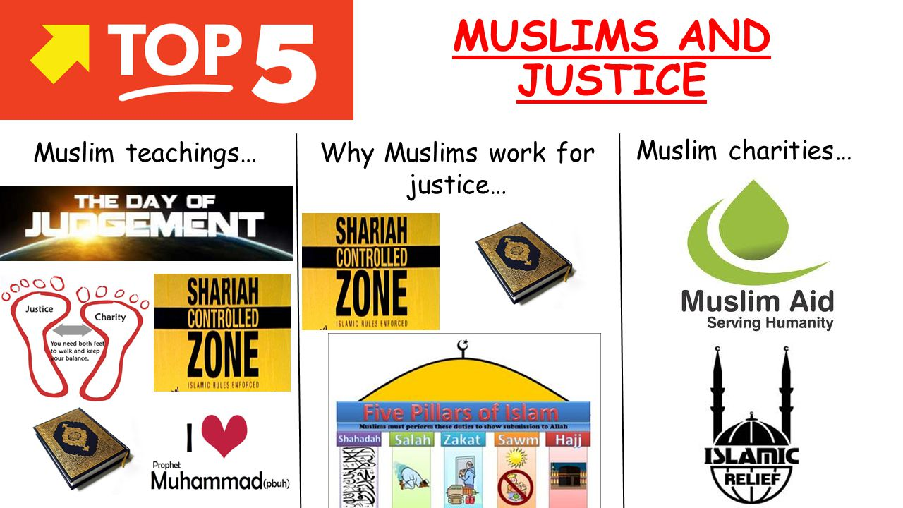 Why Muslims work for justice…