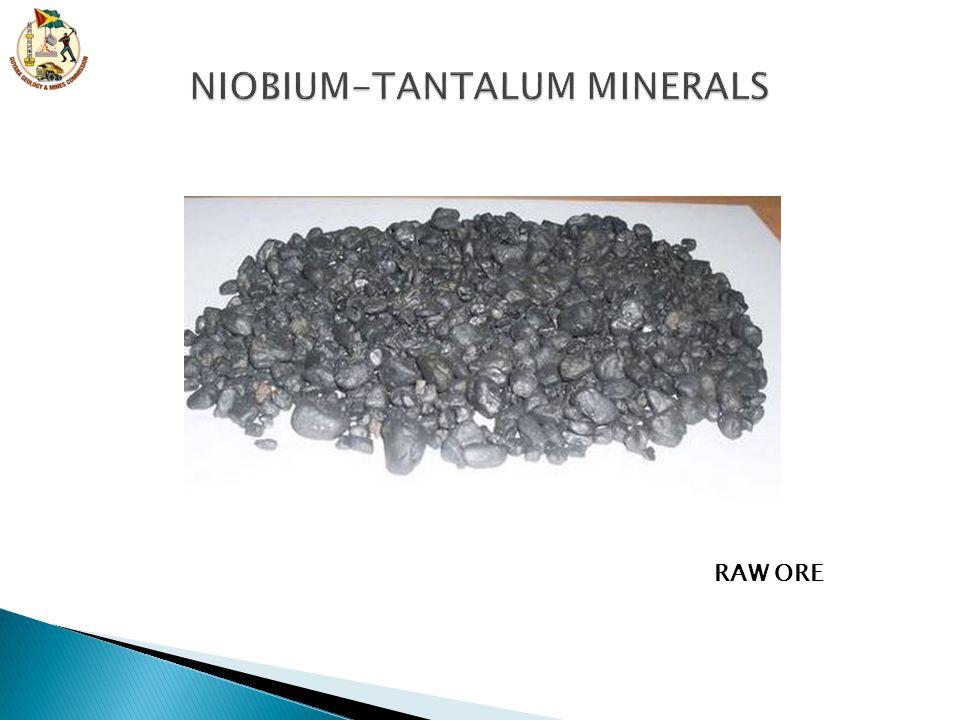 NIOBIUM-TANTALUM MINERALS
