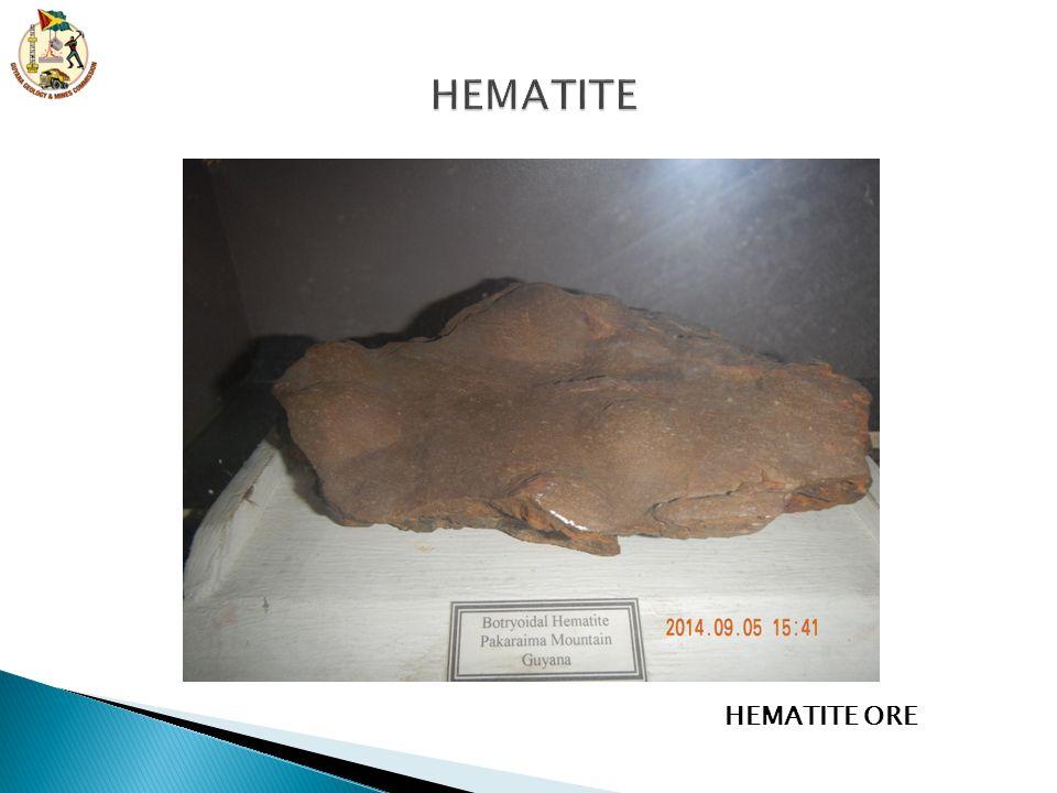 HEMATITE HEMATITE ORE