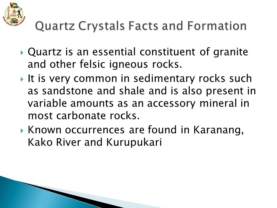 Quartz Crystals Facts and Formation