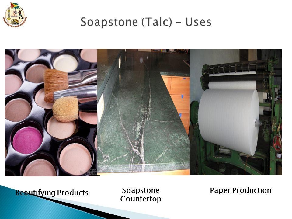 Soapstone (Talc) - Uses