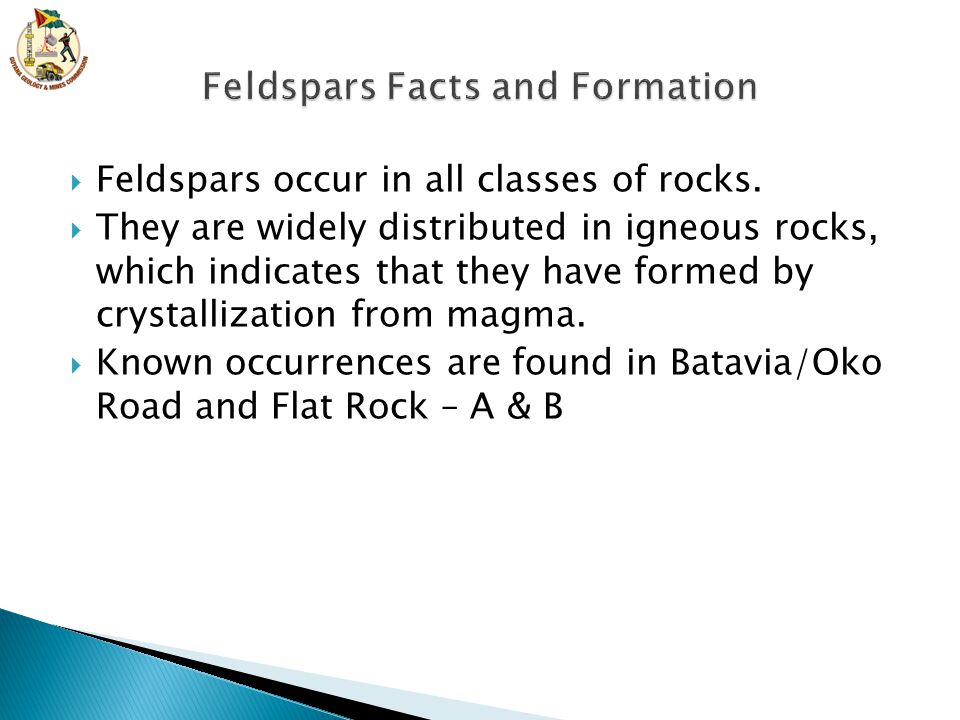 Feldspars Facts and Formation