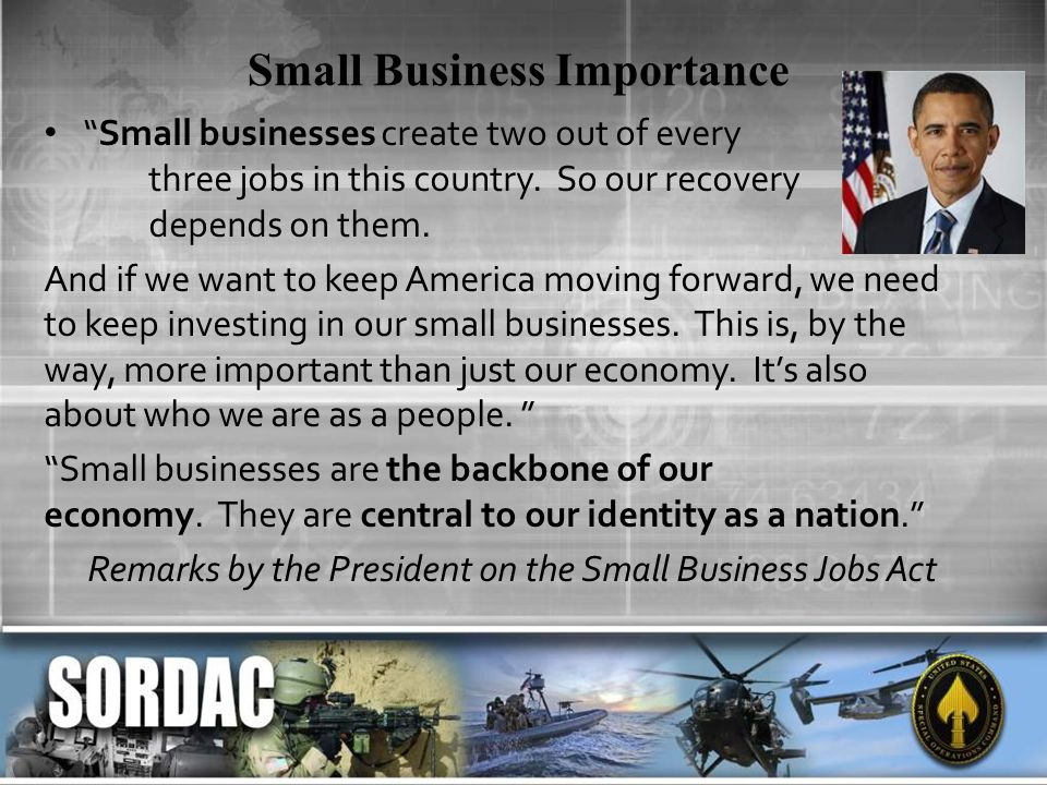 Small Business Importance