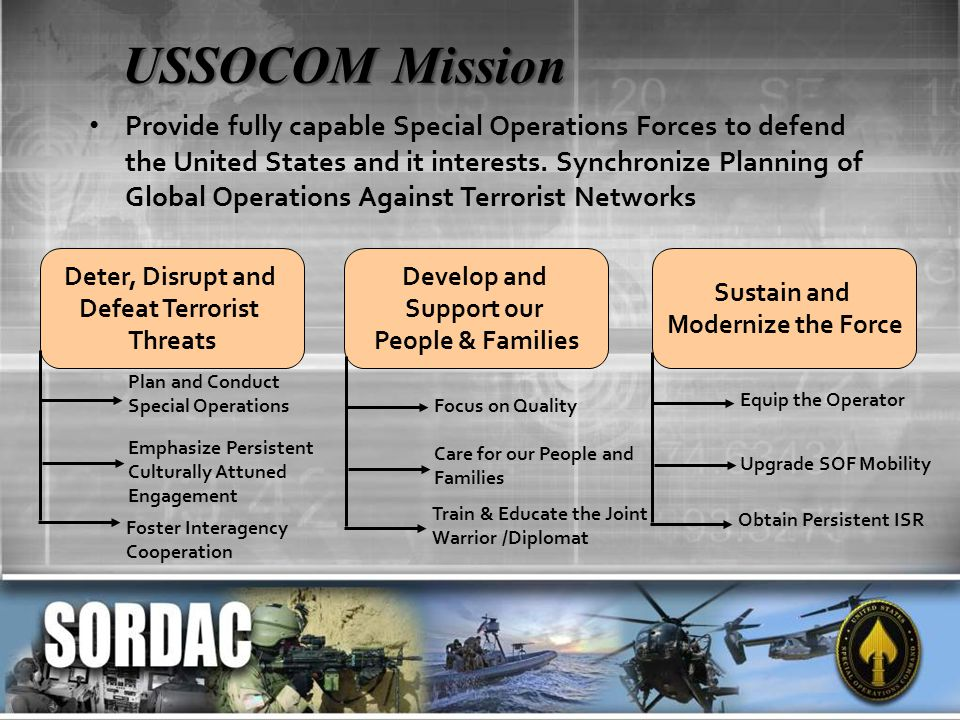 USSOCOM Mission