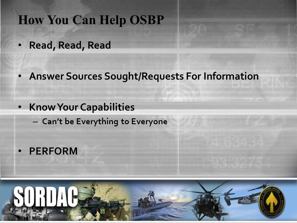 How You Can Help OSBP Read, Read, Read