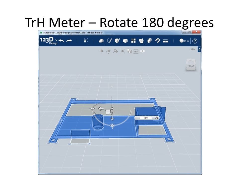 TrH Meter – Rotate 180 degrees