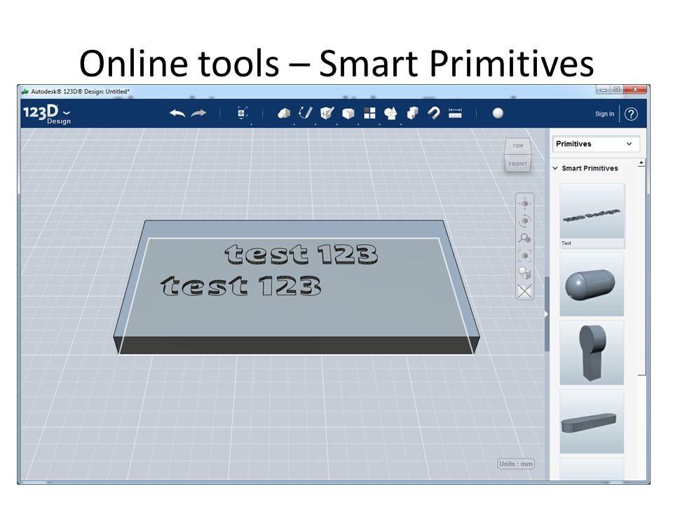 Online tools – Smart Primitives