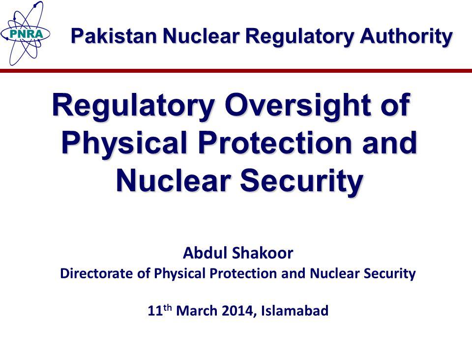 Pakistan Nuclear Regulatory Authority