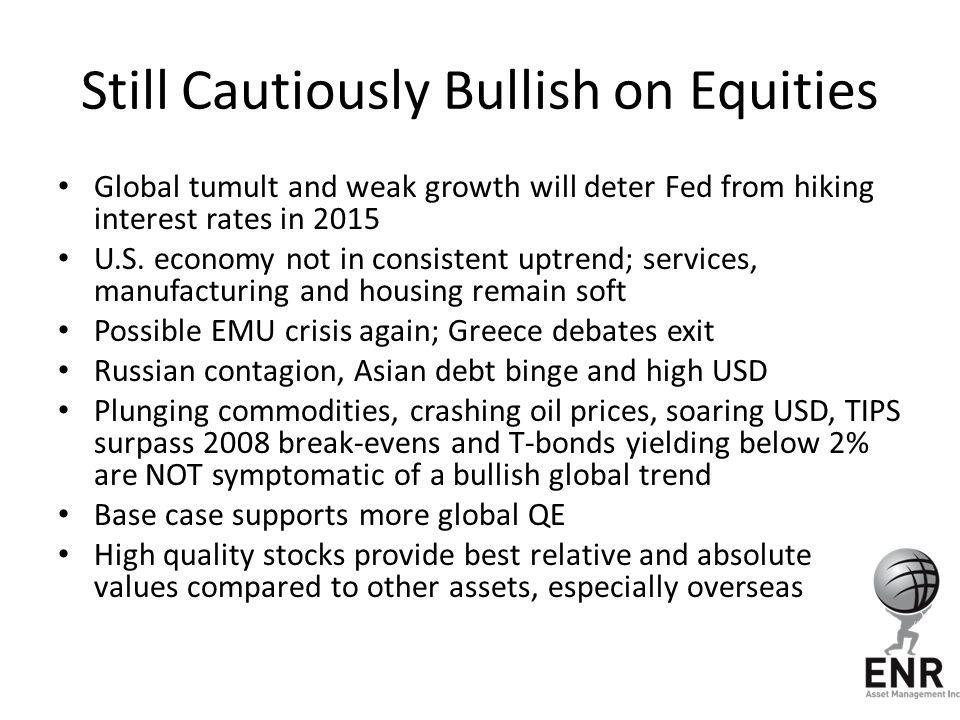 Still Cautiously Bullish on Equities