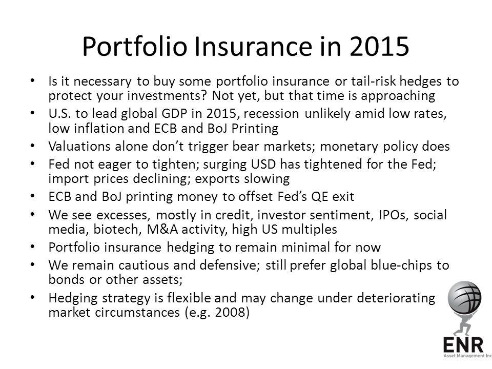 Portfolio Insurance in 2015