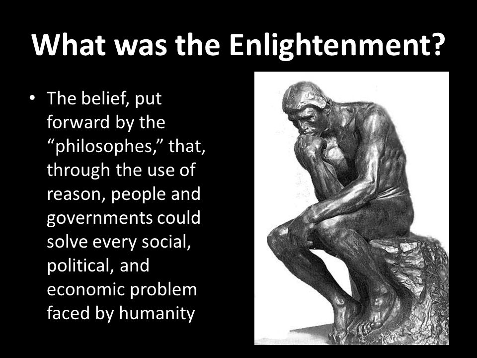 What was the Enlightenment