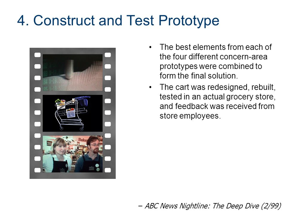 4. Construct and Test Prototype