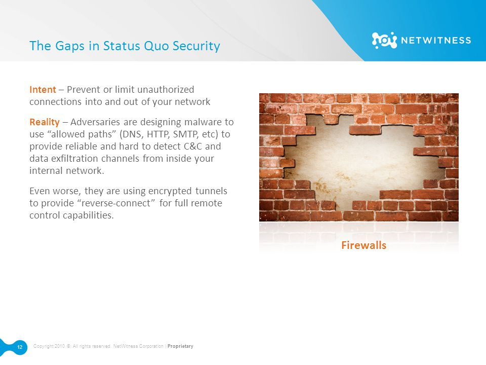 The Gaps in Status Quo Security
