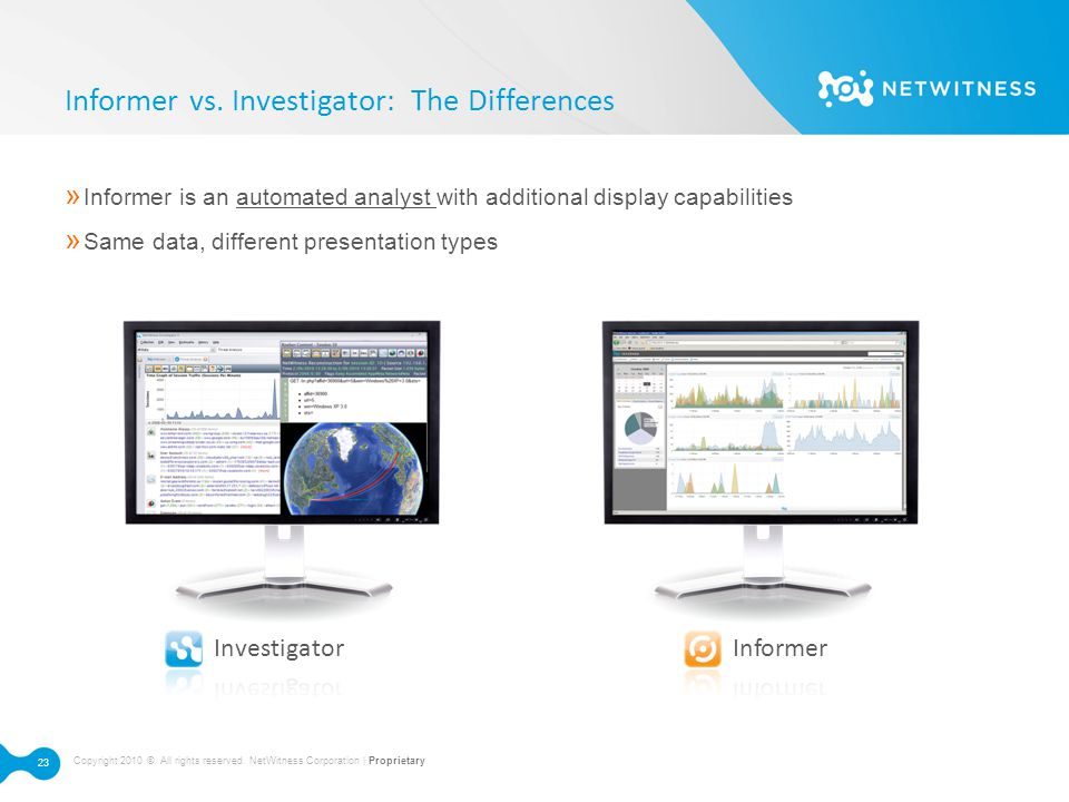 Informer vs. Investigator: The Differences