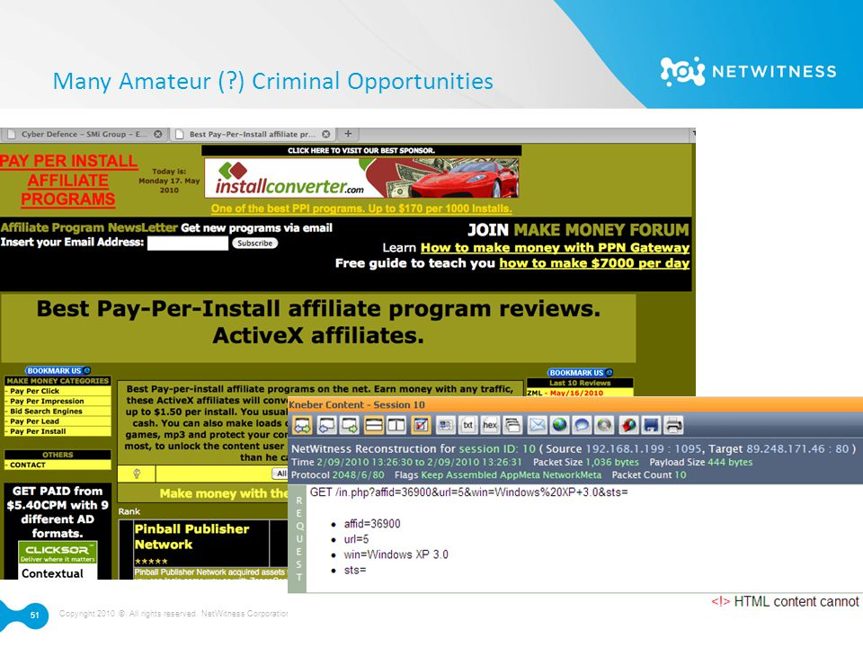 Many Amateur ( ) Criminal Opportunities