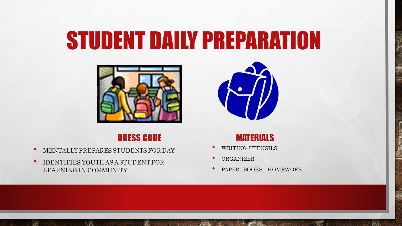 Student Daily Preparation