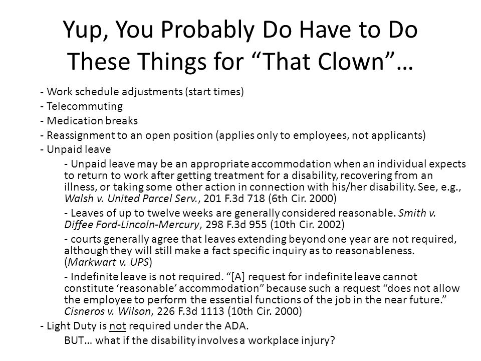 Yup, You Probably Do Have to Do These Things for That Clown …