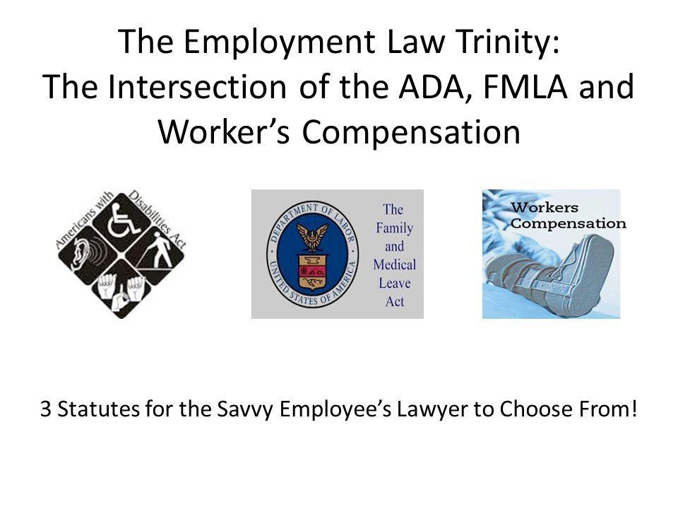 3 Statutes for the Savvy Employee's Lawyer to Choose From!