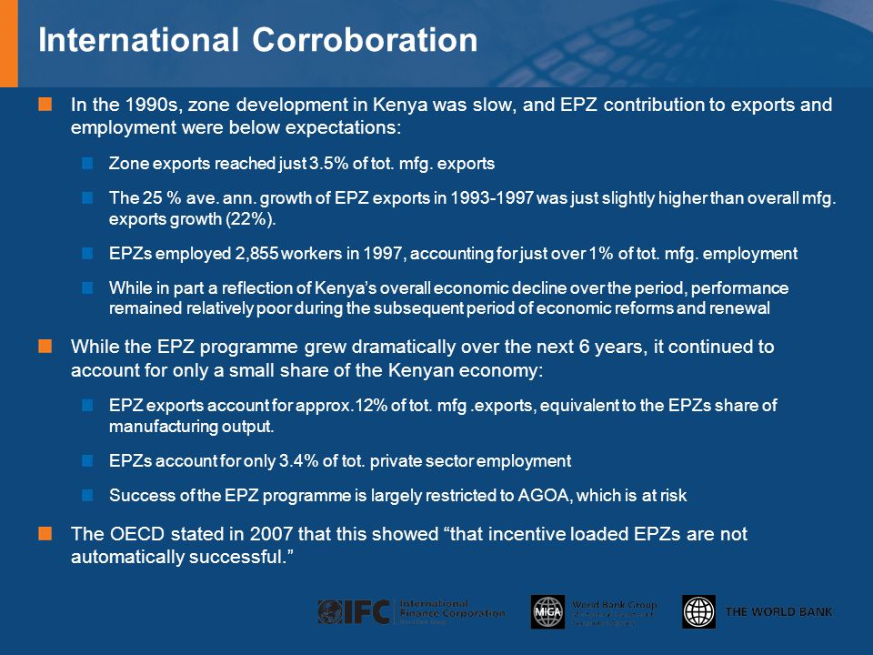 International Corroboration
