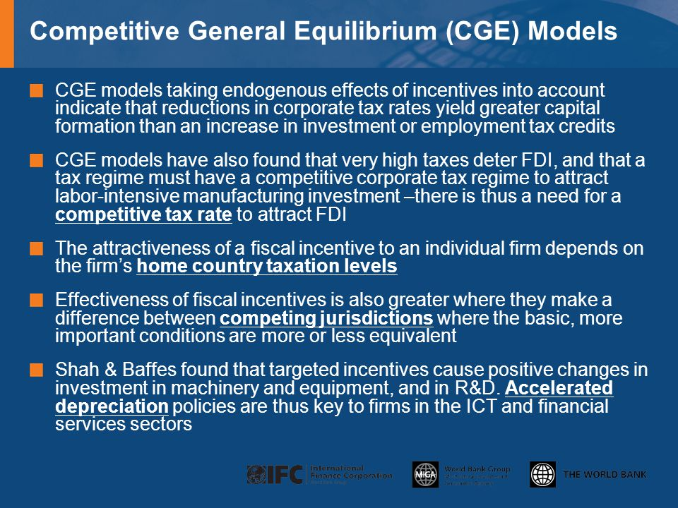 Competitive General Equilibrium (CGE) Models