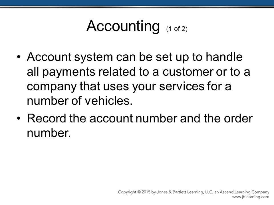 Accounting (1 of 2)