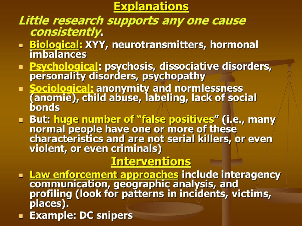 Explanations Interventions