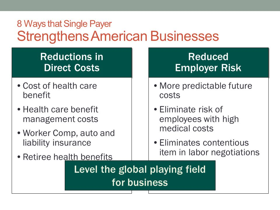 8 Ways that Single Payer Strengthens American Businesses