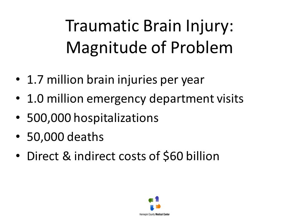 Traumatic Brain Injury: Magnitude of Problem