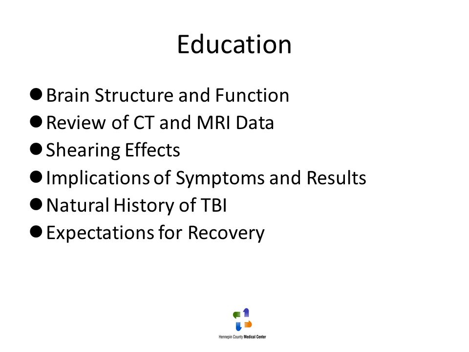 Education Brain Structure and Function Review of CT and MRI Data