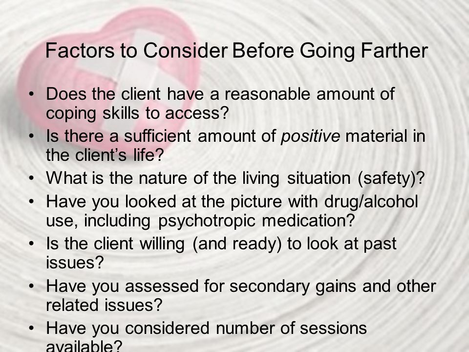 Factors to Consider Before Going Farther