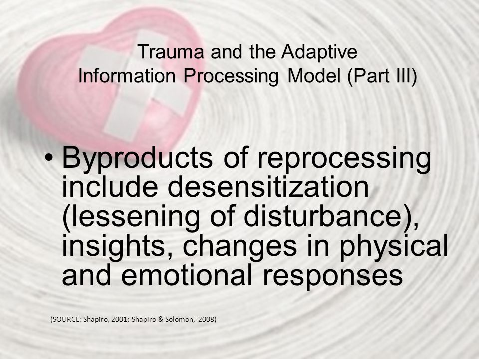 Trauma and the Adaptive Information Processing Model (Part III)