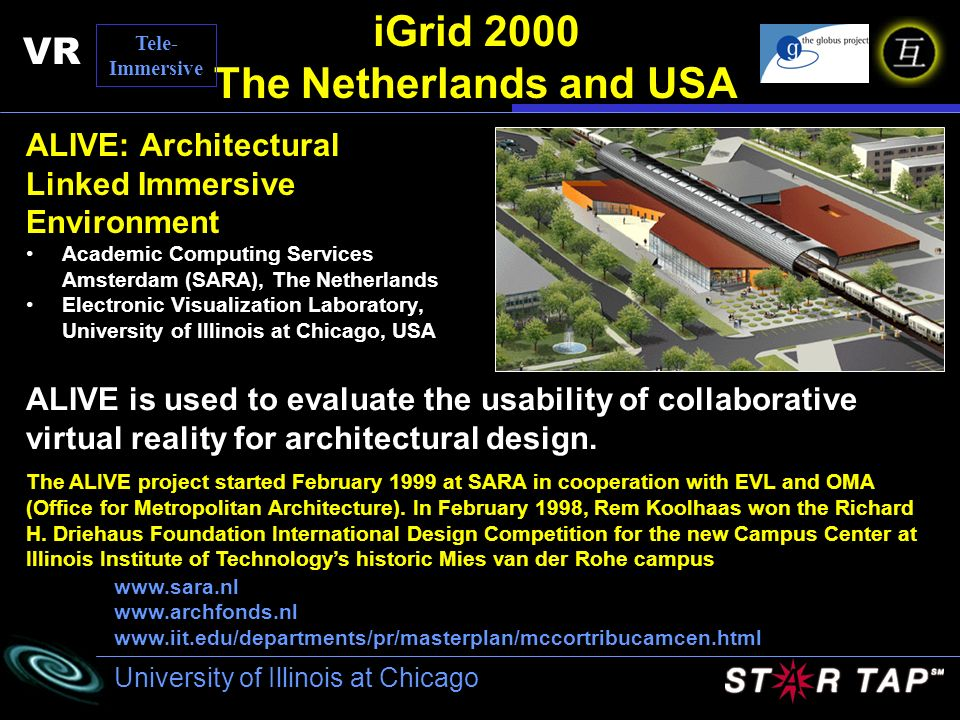 iGrid 2000 The Netherlands and USA