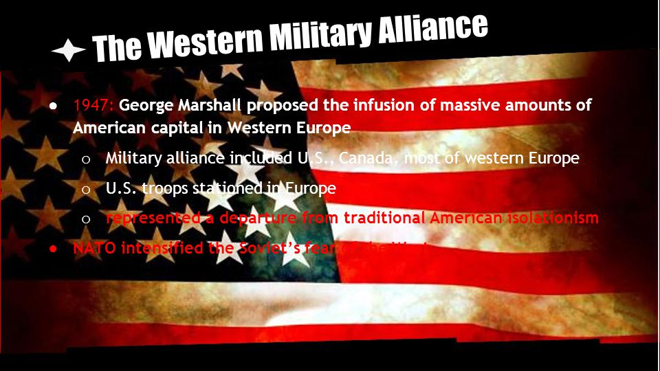 The Western Military Alliance