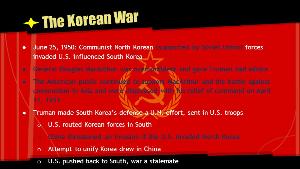 The Korean War Result: Massive American rearmament
