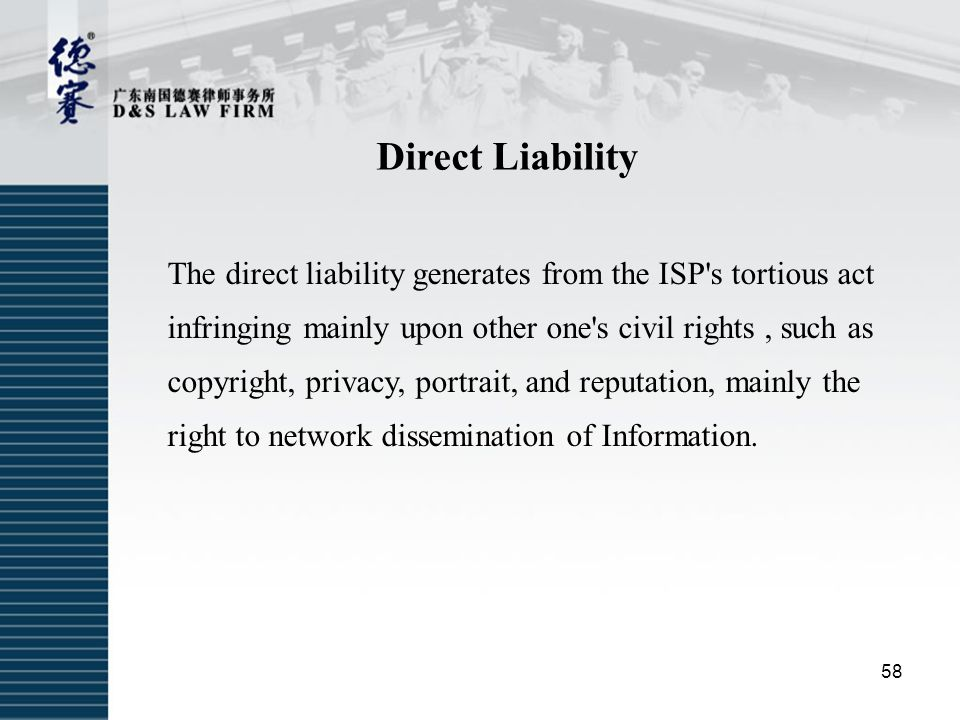 Direct Liability