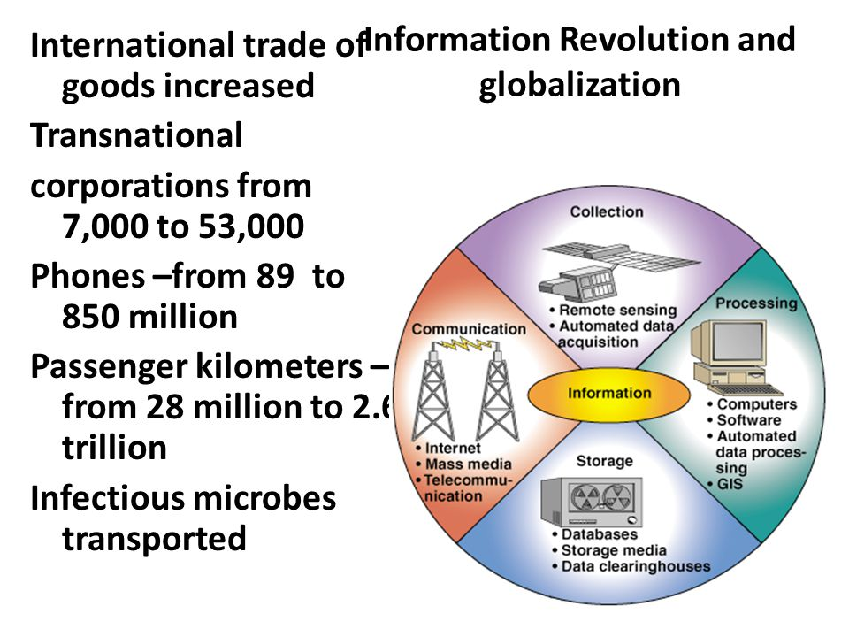 Information Revolution and globalization